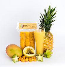 Mango, Piña, Uchuva, Carambolo y Maracuyá