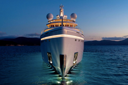 From Trump Tower To Gigayachts: Designing The World's Most Illuminating Superyacht
