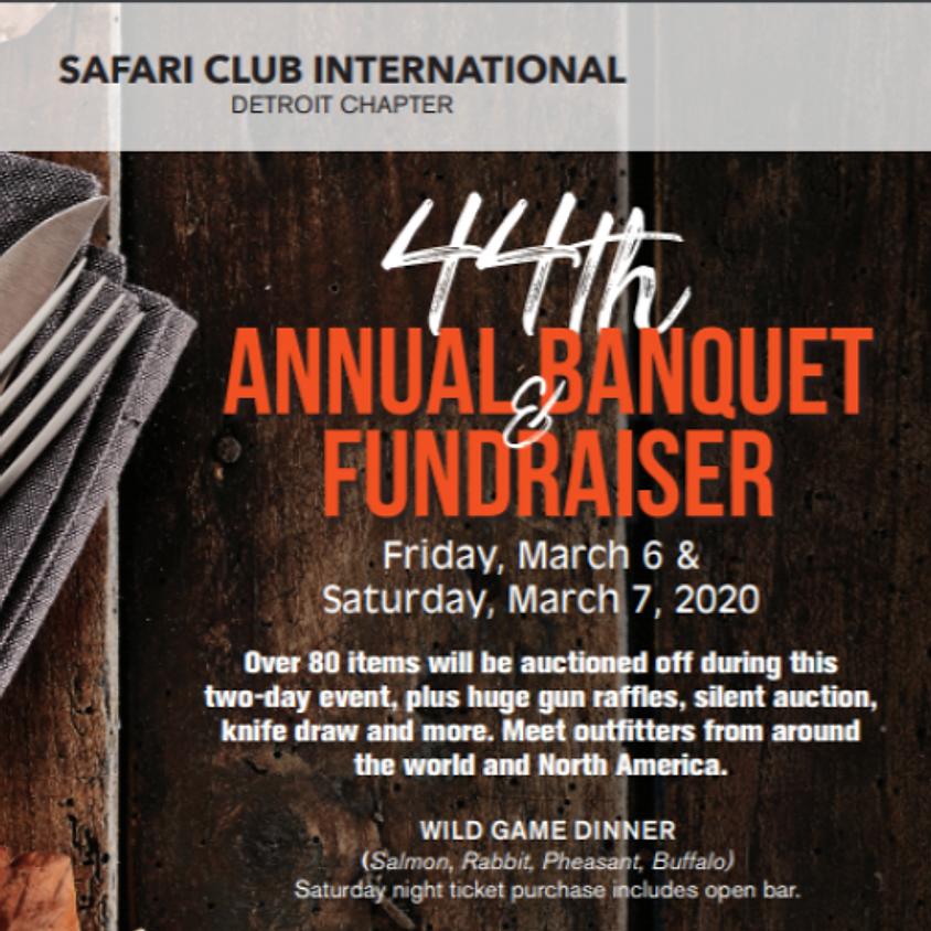 Safari Club International Detroit Chapter 44th Annual Banquet & Fundraiser