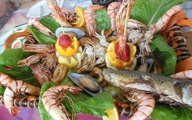 Национальная кухня Кипра, Блюда из морепродуктов