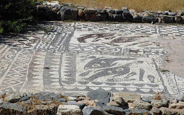 Греция Крит Затонувший город Олус