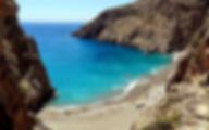 Греция Крит Пляж Агиофараго область Ираклион