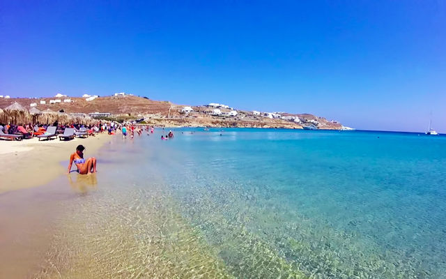 Греция Миконос Кало Ливади