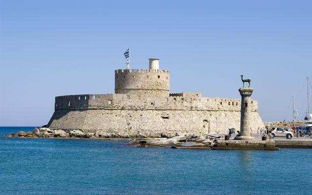Греция Родос Крепость Святого Николая