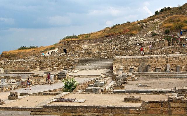 Греция Родос Древний город Камирос