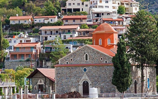 Кипр Деревня Агрос