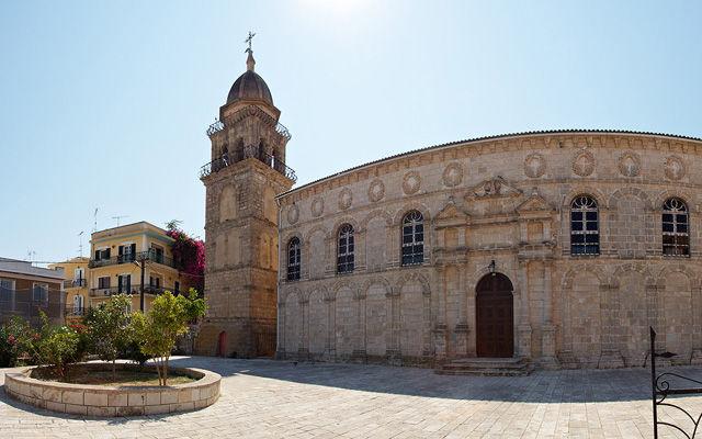 Греция Закинф Церковь Фанеромени