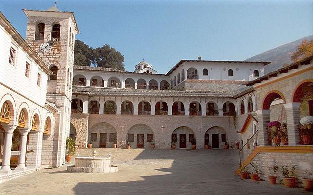 Греция Монастырь Икосифиниссис