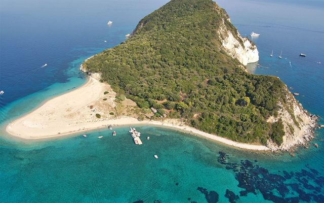 Греция Закинф Остров Маратониси