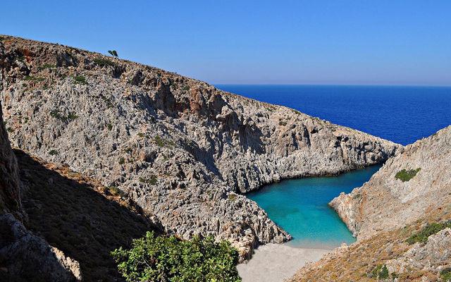 Греция Крит Пляж Стефану область Ханья