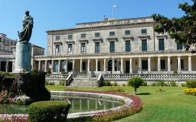 Греция Корфу Музей азиатского искусства