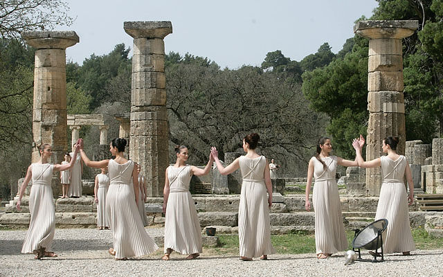 Греция Пелопоннес Олимпия