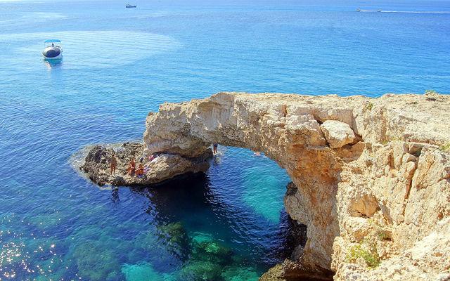 Кипр  Мост влюбленных  Айя-Напа