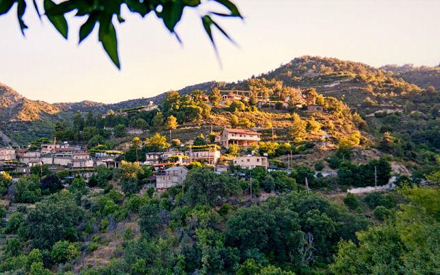 Достопримечательности Кипр Деревня Полистипос