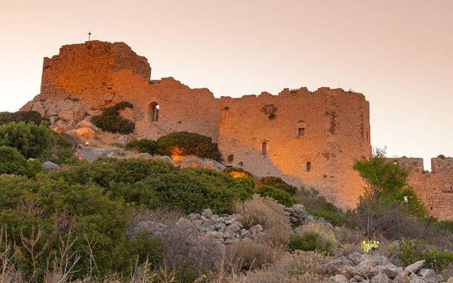 Греция Родос Крепость Критиния