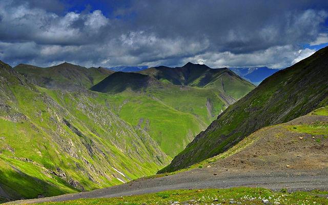 Грузия Национальный парк Тушети Кахетия