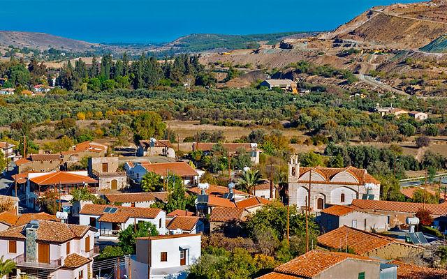 Достопримечательности Кипр Деревня Катидата