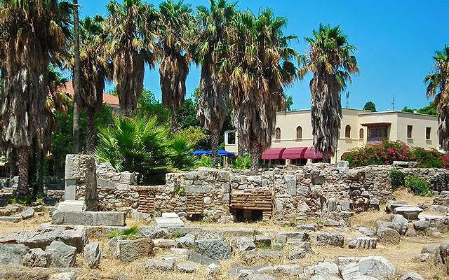 Греция Кос Храм Геркулеса Кос