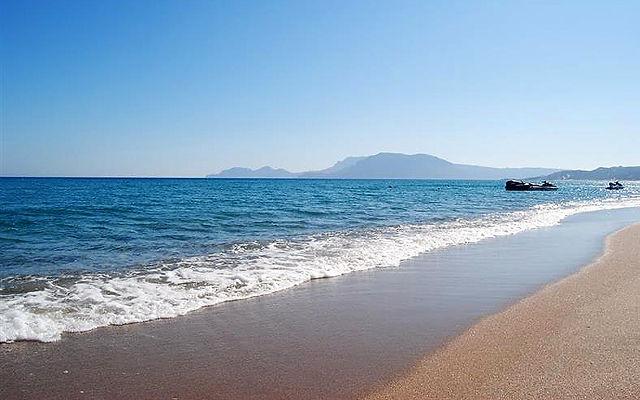 Греция Кос Пляж Солнечный пляж Кефалос