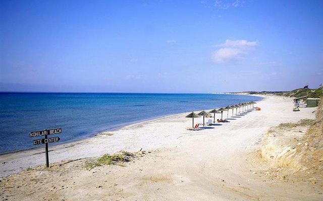 Греция Кос Пляж Кохилари Кефалос