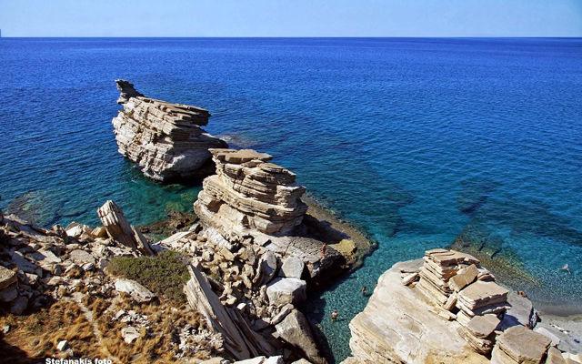 Греция Крит Пляж Триопетра область Ретимно