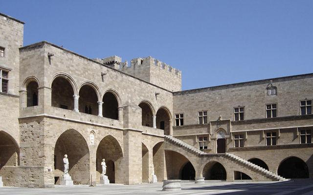 Греция Родос Музей Современного Греческого Искусства