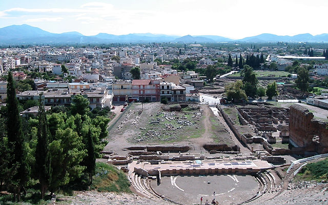 Греция Пелопоннес Аргос