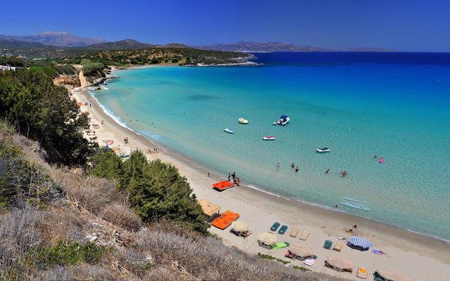 Греция Крит Пляж Вулисма область Лассити