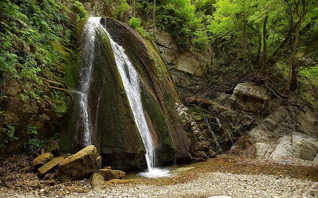 Греция Халкидики Водопады Варвары