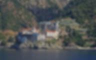 Греция Афон Монастырь Григориат