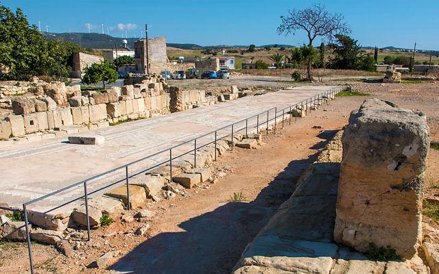 Кипр Святилище Афродиты в Палепафос