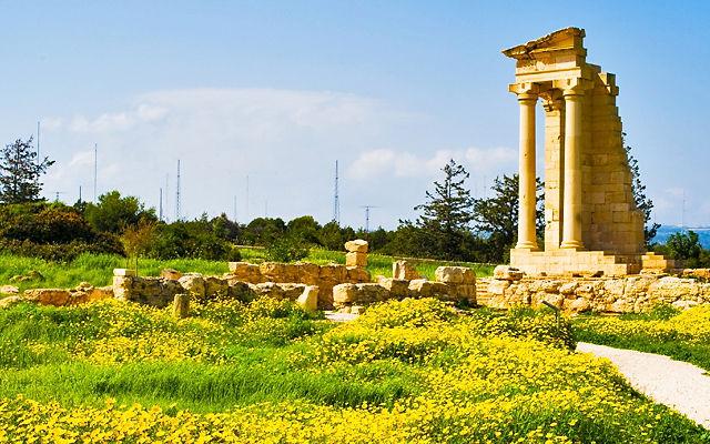 Кипр Святилище Аполлона Хилатеса