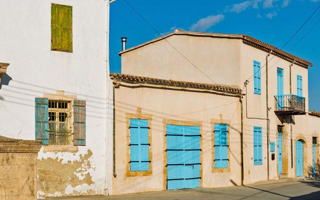 Кипр Деревня Атиену
