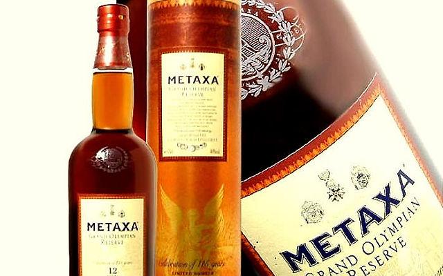 Греческие вина и напитки Метакса