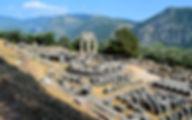Греция Святилище Афины в Дельфах