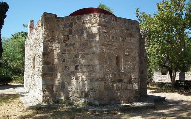 Греция Кос Церковь Святого Ioannes Naukleros Кос