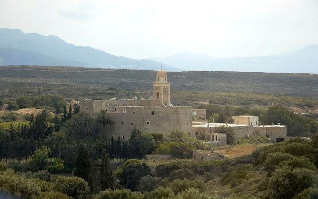 Греция Крит Монастырь Топлу
