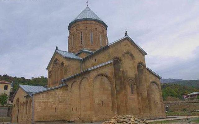 Грузия Девичий монастырь Тбилиси