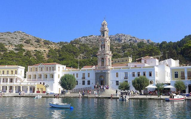 Греция Родос Церковь Архангела Михаила