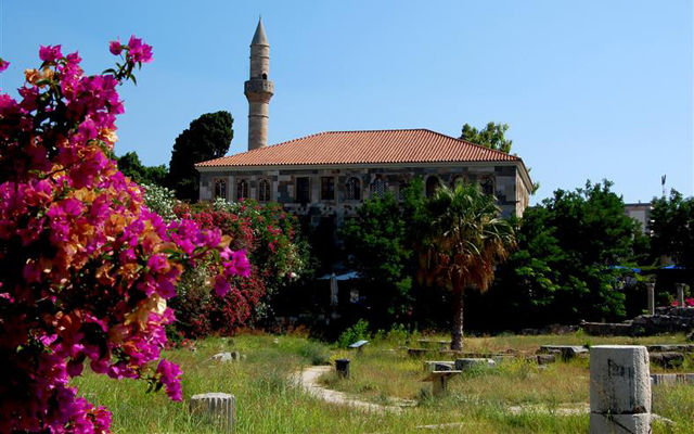 Греция Кос Мечеть Гази Хасан Кос