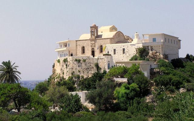 Греция Крит Монастырь Хрисоскалитисса