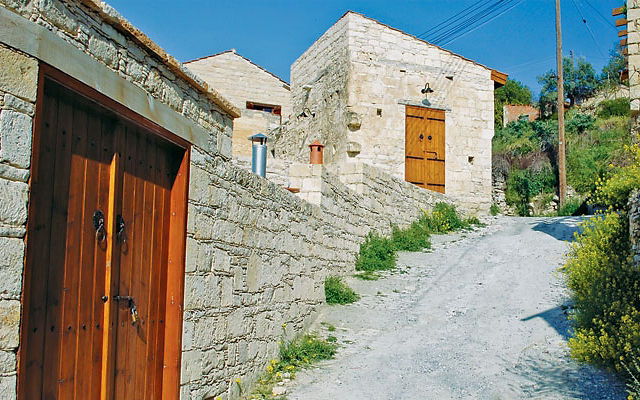 Кипр Деревня Васа Киланиу