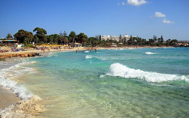 Кипр Пляж Астерия (Айя-Напа)