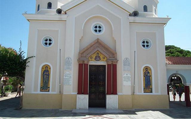 Греция Кос Церковь Святой Параскевы Кос