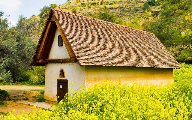 Кипр Церковь Архангела Михаила или Пресвятой Богородицы