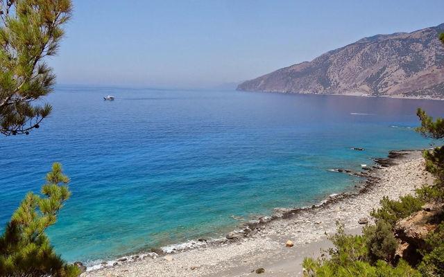 Греция Крит Пляж Агиос Павлос область Ретимно
