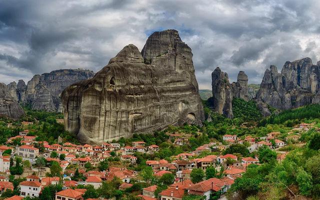 Греция Каламбака