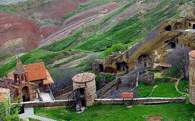 Грузия Давидо-Гареджийский монастырский комплекс Кахетия