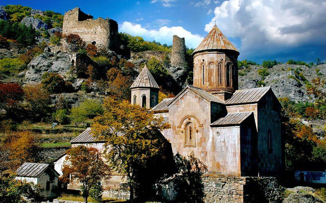 Грузия Монастырь Сафара Ахалцихе