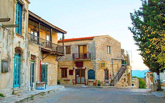 Достопримечательности Кипр Деревня Катикас